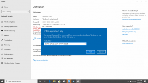 Active windows 10 Pro