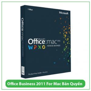 Mua Key Office Business 2011 For Mac