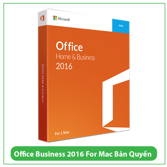 Mua Key Office Business 2016 For Mac