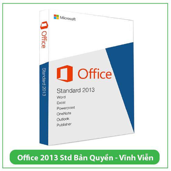 Mua Key Office Standard 2013