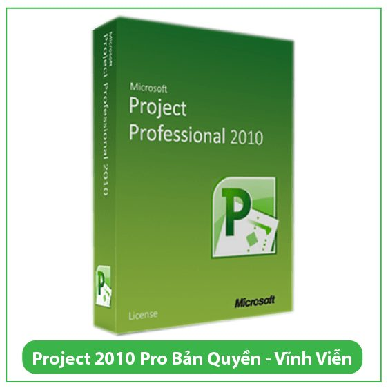 Mua Key Project Professional 2010