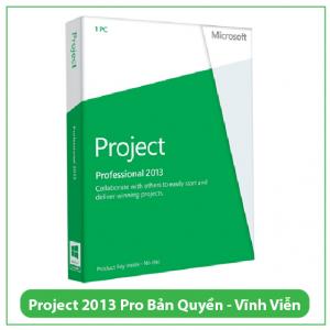 Mua Key Project Professional 2013