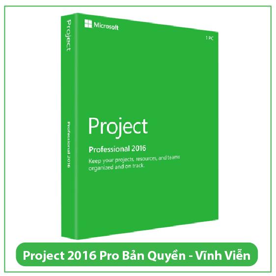 Mua Key Project Professional 2016