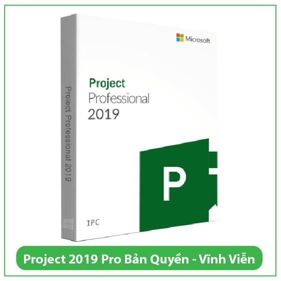 Mua Key Project Professional 2019