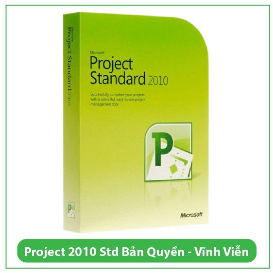 Mua Key Project Standard 2010