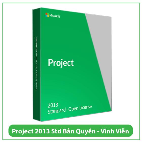 Mua Key Project Standard 2013