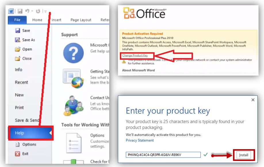 Office 2010 proplus