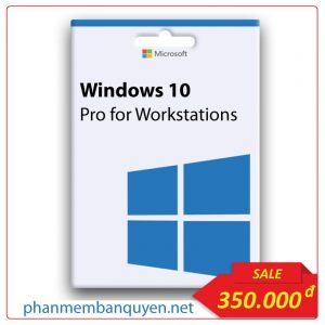 Mua Key Windows 10 Pro For Workstations